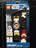 Lego Kids Star Wars Storm Trooper Watch 9002922 With Mini Figure by LEGO (Watch)