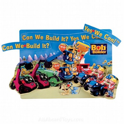 Cheap schylling Bob the Builder Can We Build It? Yes We Can! Peg Puzzle (B000JF06TG)