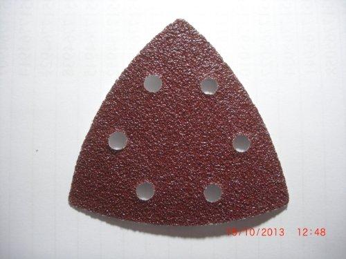 1 Stück Schleifscheiben, Deltaschleifer, 93x93x93mm, Korn 60,