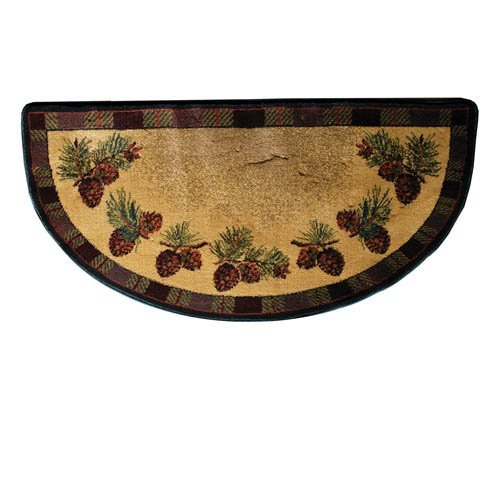 pine cone hearth rug roselawnlutheran