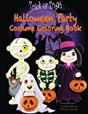 img - for Halloween Party Costume Coloring Book book / textbook / text book