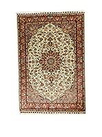 L'Eden del Tappeto Alfombra Kashmirian F/Seta Marrón / Crudo 182  x  121 cm