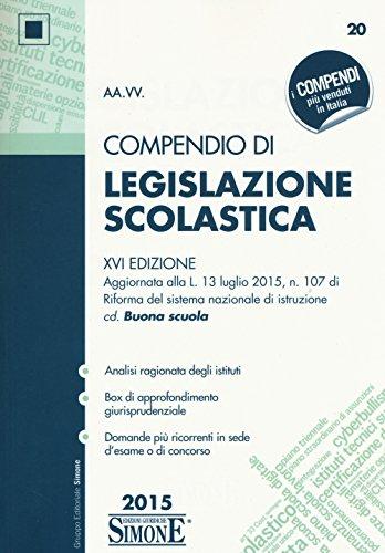 Compendio di legislazione scolastica PDF