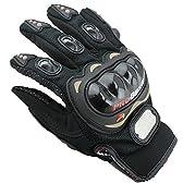 Probiker プロバイカー オートバイ バイク グローブ プロテクター付 メッシュ仕様 並行輸入品 黒/XL