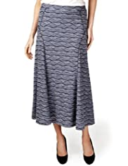 Per Una Textured Long Skirt [T62-2643J-S]