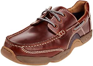 Chatham Marine Mens Schooner G2 Chesnut Boat Shoes 10.5 UK, 44.5 EU, Regular