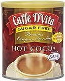 Caffe D'Vita Sugar Free Hot Cocoa, 10 Ounce Can