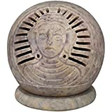 Indian Decor Handmade Tealight Candle Holder Soap Stone Buddha 3 Inch Lamps Diwali Gifts