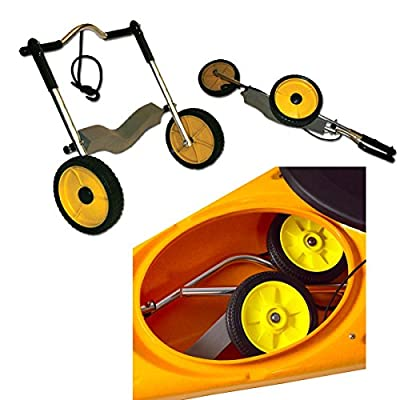 Seattle Sports Durable Original Paddleboy Kayak and Canoe Cart/Dolly