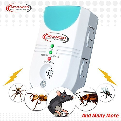 Ultrasonic Pest Control Repeller Electronic 6 in 1, ** LATEST Ultimate Indoor...