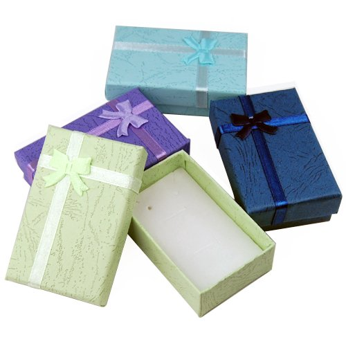 Caltrad 12 Luxury Jewellery Gift Boxes for Pendant Bracelet Earring Necklace