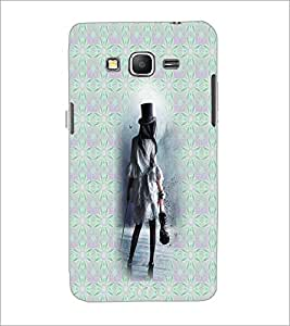 PrintDhaba Violin Girl D-3010 Back Case Cover for SAMSUNG GALAXY GRAND PRIME (Multi-Coloured)