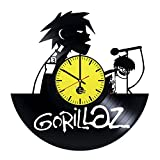 2D-Gorillaz-HANDMADE-Vinyl-Record-Wall-Clock-Get-unique-home-or-office-wall-decor-Gift-ideas-for-his-and-her-Gorillaz-Rock-Music-Band-Unique-Art-Leave-us-a-feedback-and-win-your-custom-clock