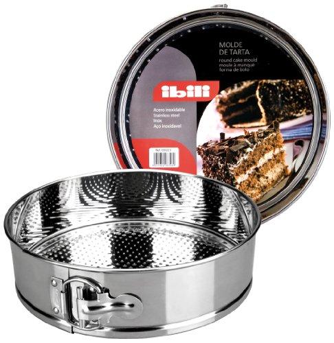 Springform STAINLESS STEEL cake tin [ 26 cm dia [ 6.5cm deep ]]