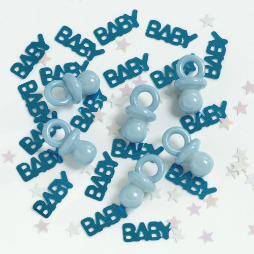It'sABoy/Blue Pacifier Confeti