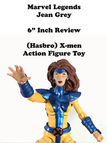"Marvel Legends JEAN GREY X-men review 6"" inch (Hasbro) action figure toy"