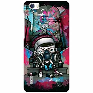 Huawei Honor 6 H60-L04 Phone Cover -Creation Matte Finish Phone Cover