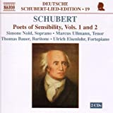 Schubert: Lied Edition 19 - Poets of Sensibility, Vols. 1 and 2