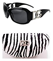 9ea2987c975 Buy DG Eyewear Black Sunglasses   1 Zebra DG Case JE36162B ZC + Free Micro  Fiber Bag