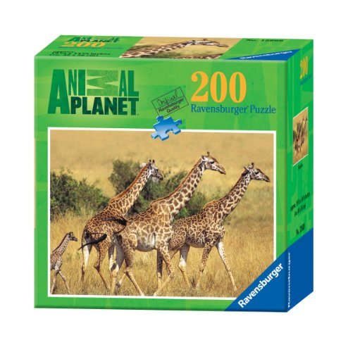51xpY SK9zL Cheap Buy  Ravensburger Animal Planet: Giraffes   200 Pieces Puzzle