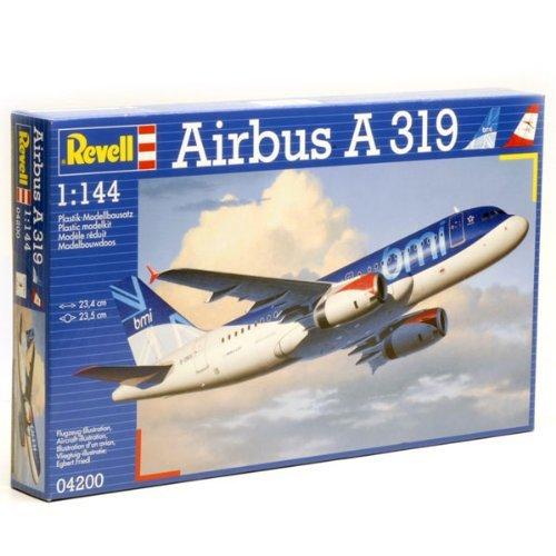 Revell-Modellbausatz-04200-Airbus-A319-bmiAustrian-Airline-im-Mastab-1144