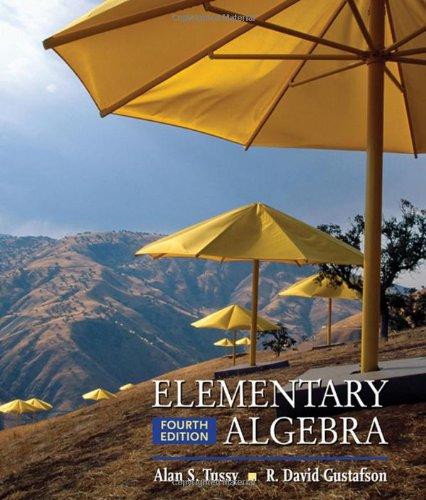 Elementary Algebra front-962619