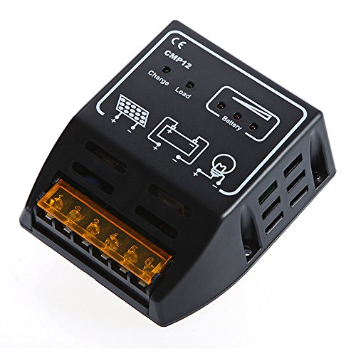 andoer 10a 12v 24v solar panel batterie regulator solar laderegler. Black Bedroom Furniture Sets. Home Design Ideas