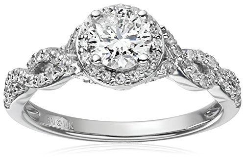 14k-White-Gold-Diamond-Halo-Frame-Engagement-Ring-1cttw-H-I-Color-I1-I2-Clarity-Size-7