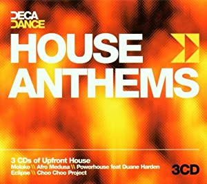 Various artists decadance house anthems music for Deep house anthems