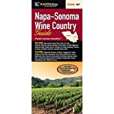 img - for Napa - Sonoma Wine Country Guide Fold Map book / textbook / text book