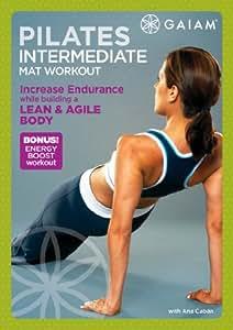 Amazon Com Pilates Intermediate Mat Workout Ana Cabn