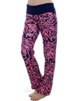 Juniors Printed Flared Yoga Pants