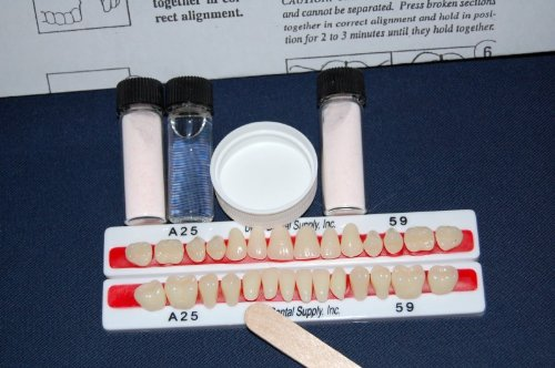 doc denture reline kit instructions