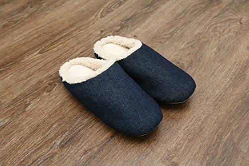 ルームシューズ Deniche Boar(デニーシュボア) サイズ:L(メンズ) ブルー