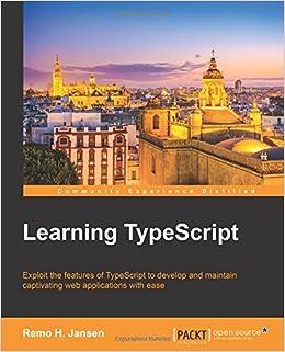 Learning TypeScript  Amazon co uk  Remo H  Jansen  9781783985548