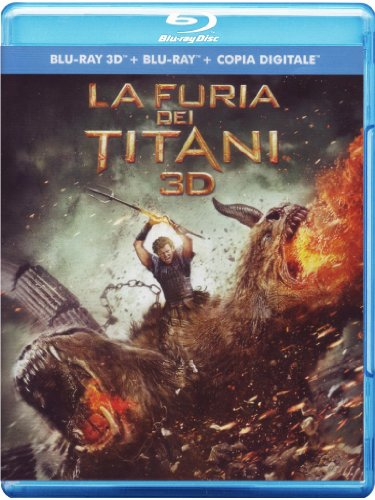 La furia dei titani (2D+3D) [Blu-ray] [IT Import]