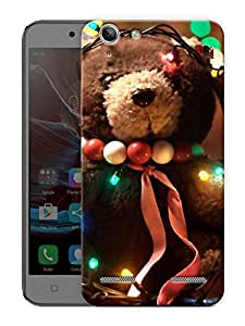 """Teddy With Lights Printed Designer Mobile Back Cover For """"Lenovo Vibe K5 - K5 Plus"""" By Humor Gang (3D, Matte Finish, Premium Quality, Protective Snap On Slim Hard Phone Case, Multi Color)"""