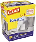 Glad Drawstring Forceflex Tall White...