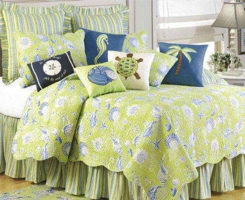 Quilt, Green Shells