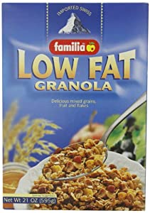 Familia Low-Fat Granola Cereal, 21-Ounce Boxes (Pack of 6)