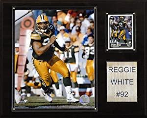 NFL Reggie White Green Bay Packers Player Plaque by C&I Collectables