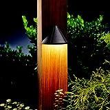 Kichler Lighting 15065AZT Mini Deck Light 12-Volt Deck and Patio Light, Textured Architectural Bronze