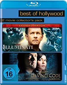 Best of Hollywood 2012 - 2 Movie Collector's Pack 52 (Illuminati / The Da Vinci Code - Sakrileg) [Blu-ray]
