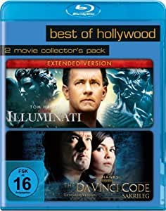 Best of Hollywood 2012 - 2 Movie Collector's Pack 52 (Illuminati / The Da Vinci Code - Sakrileg) [Blu-ray]