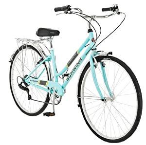 700c Schwinn Admiral Ladies Hybrid Bike, Powder Blue by Schwinn