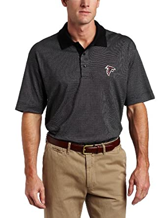 NFL Atlanta Falcons Mens DryTec Birdseye Polo Shirt by Cutter & Buck