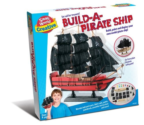 Small World Creative Build-A-Pirate Ship