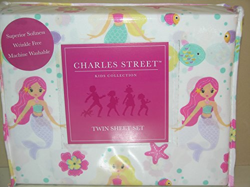 Popular You will observe more facts pare cost and in addition read evaluation customer opinions just before buy Charles Street Mermaid Twin Sheet Set