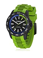 Yamaha by TW Steel Reloj con movimiento Miyota Y9 Verde 40  mm