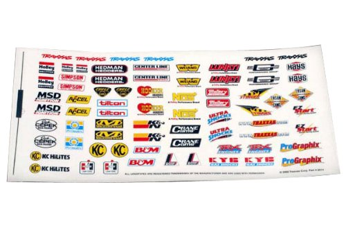 Traxxas 2514 Decal Sponsor Sheet - 1